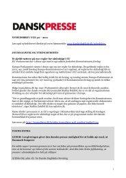 Nyhedsbrevet Dansk Presse nr. 50 - Danske Mediers ...