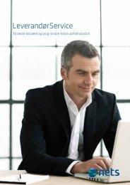Download brochuren og læs mere om LeverandørService - Nets