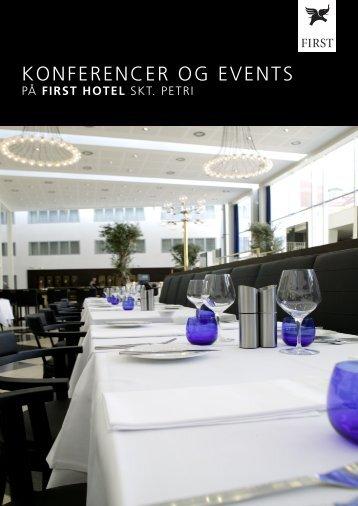 KONFERENCER OG EVENTS - First Hotels