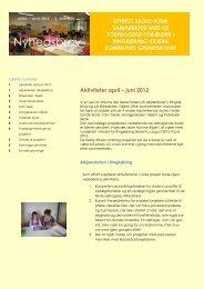 Nyhedsbrev nr. 2 - april - juni 2012 - Sprogcenter Syd