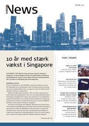 10 år med stærk vækst i Singapore - DS Norden