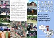 Farre - en moderne landsby i Vejle Kommune_Velkomstbrochure.indd