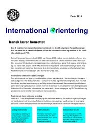 International rientering - Danmarks Lærerforening