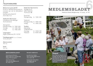 Juli/august 2011 - HAB-Bolig