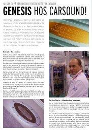 Læs mere om Genesis her (pdf) - CARSound Bilstereo