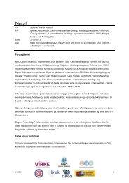 Notat til møtet med Rigmor Aasrud om sikringstiltak i Oslo ... - Virke