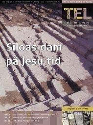 Siloas dam på Jesu tid - Selskab for Bibelsk Arkæologi