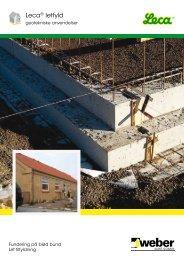 Brochure: Leca® letfyld - Weber