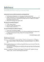 Vejledning til referencefunktionen i Word udarbejdet af ... - phbibliotek