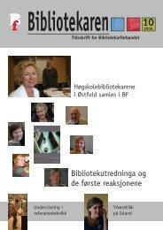 Bibliotekutredninga og de første reaksjonene - Bibliotekarforbundet
