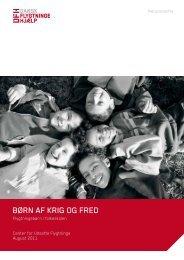 Børn af krig og fred - Dansk Flygtningehjælp