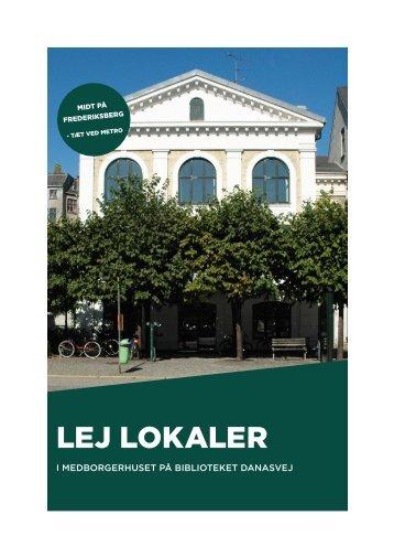 LEJ LOKALER - Frederiksberg Kommune