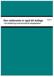 Den voldsramte kan også være din kollega - Dansk Metal