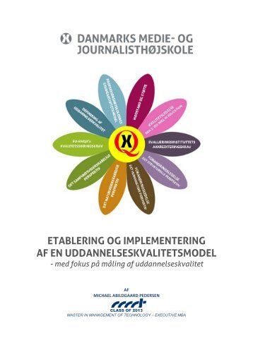 The Establishment and Implementation of an Educational Quality ...