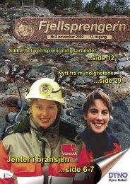 Fjellsprengern Nummer 2_2002.pdf - Orica Mining Services