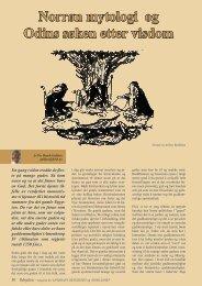 Norrøn mytologi og Odins søken etter visdom - Ildsjelen