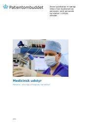 Medicinsk udstyr - Patientombuddet