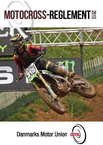 Motocross Reglement 2013 - Børkop Motor Sport