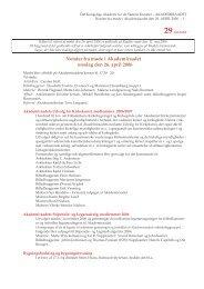 Læs referatet fra møde den 26. april 2006 - Akademiraadet
