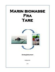 Marin biomasse Marin biomasse Fra Tare