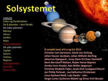 Solsystemet - Christian Gerhardt