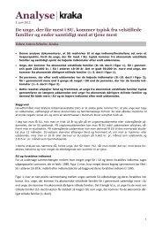 Analyse: Velstillede unge får mest i SU - Kraka
