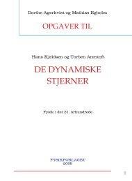 DE DYNAMISKE STJERNER - Fysik