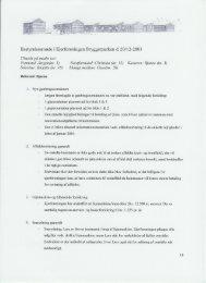 Referat af bestyrelsesmøde 20-12-2003 - bryggerparken.dk