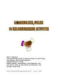 Samarbeidsøvelser og leker fra Hilde Huseby - Diakonhjemmet