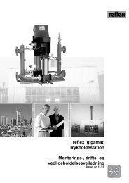 reflex 'gigamat' Trykholdestation Monterings-, drifts- og ...