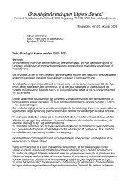 Høringssvar til Kommuneplan 2010-2022 - Grundejerforeningen ...