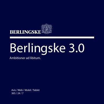 Berlingske 3.0 - Webtv på Berlingske