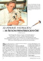 Sverre Morken - Nordisk Filateli