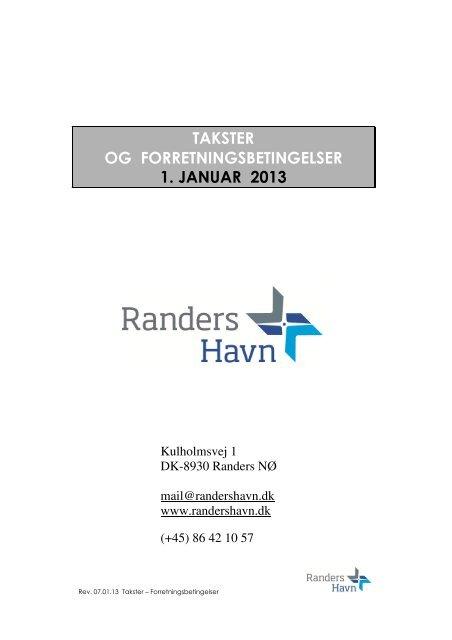 Forretningsbetingelser 2013.pdf - Randers Havn