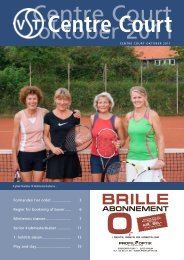 Nr. 2 - 2011 - Virum-Sorgenfri Tennisklub