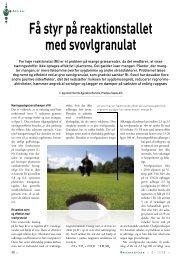 Få styr på reaktionstallet med svovlgranulat - Turfgrass