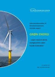 grøn energi. vejen mod et dansk energisystem ... - Energi PRINCIPS