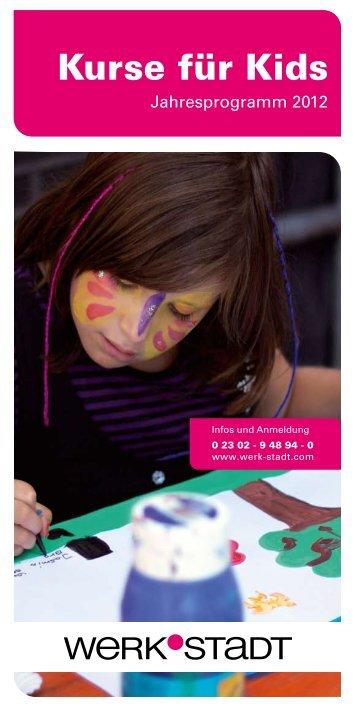 Kurse für Kids - Werk-Stadt