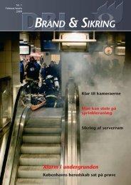 Brand & Sikring - Dansk Brand- og sikringsteknisk Institut