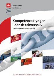 Kompetenceklynger i dansk erhvervsliv - Erhvervsstyrelsen