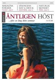 ...efter en lång skön sommar - Publikationer Provisa Sverige AB ...