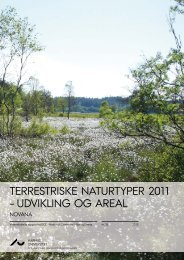 terrestriske naturtyper 2011 - DCE - Nationalt Center for Miljø og ...