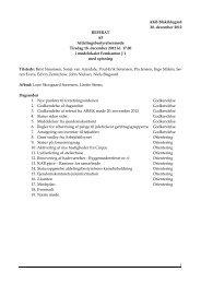 Referat den 18. december - Blåkildegård
