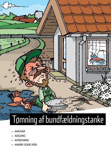 Tømning af bundfældningstanke - Halsnæs forsyning