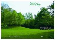 Fondens Årsskrift 2005 - Fonden for Træer og Miljø