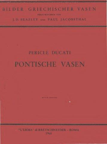 PONTISCHE VASEN - L'Erma di Bretschneider