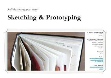 Sketching & Prototyping - Michala Sacha