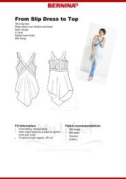 From Slip Dress to Top - My Label 3D Fashion Pattern Software
