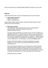 Referat af GF 2010 - Kunstens Venner Djursland