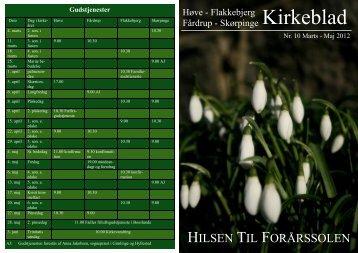 Marts-maj 2012 - Flakkebjerg Sogn - Fårdrup Sogne
